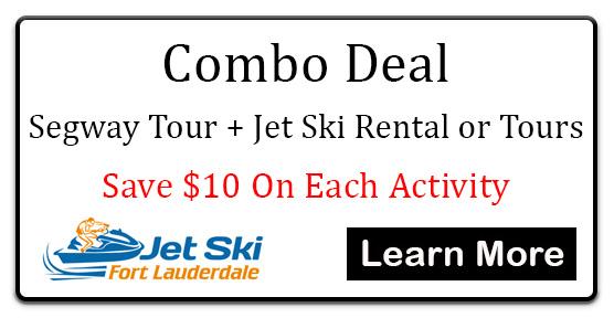 Jet Ski Rentals Fort Lauderdale Florida - Combo Deal