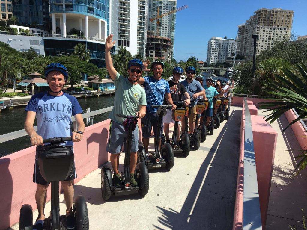 team building segway tours fort lauderdale