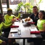 Enjoying the Segway food tour Las Olas